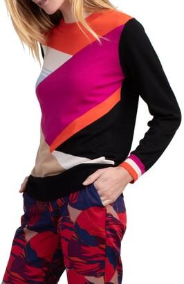 Trina Turk Maclaine Superfine Merino Sweater
