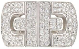 Bvlgari Pre-Owned 18kt White Gold Diamond Ring