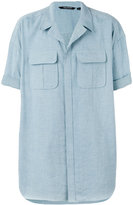 Neil Barrett oversized shirt - men - Cotton - 37