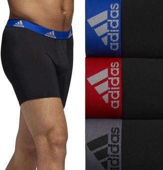 adidas Men's 3-pack climalite Performance Boxer Briefs