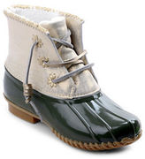 Jack Rogers Chloe Fleece-Lined Leather Duck Boots