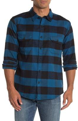 Burnside Buffalo Plaid Flannel Modern Fit Shirt