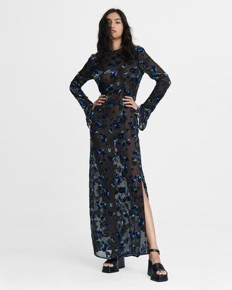 Rag & Bone Gigi column maxi dress