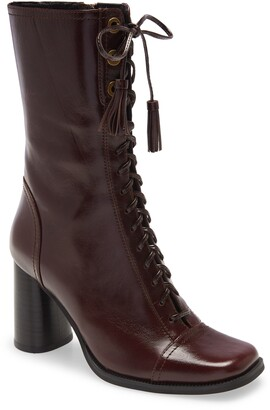 Jeffrey Campbell Jeffery Campbell Hunts Lace-Up Boot