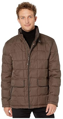 Cole Haan City Puffers 26.5 Insulated Quilted Jacket with Flap Pockets (Wren) Men's Coat