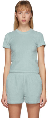 Gil Rodriguez SSENSE Exclusive Blue Terry Corsica T-Shirt