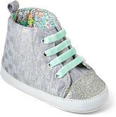 Carter's Glitter Polka Dot High Top Shoes - Girls 3m-12m