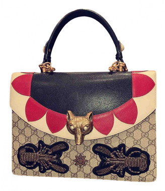 Gucci Animalier Multicolour Leather Handbags