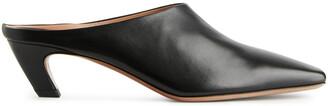 Arket Square Toe Leather Mules