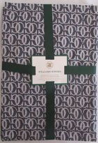 "Williams-Sonoma Williams Sonoma Grand Cuisine Jacquard Tablecloth Antique White/black 70"" X 126"""