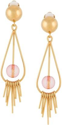 Marni Sphere Tear Drop Earrings
