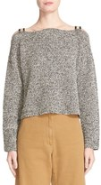 Rachel Comey Folsom Knit Cold Shoulder Top