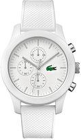 Lacoste Men's White Silicon Strap Watch