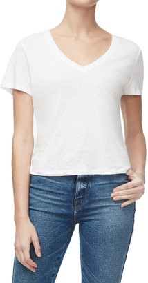 Good American The Worn-In Linen T-Shirt