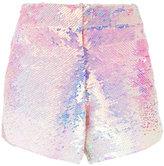 Manish Arora ombré sequinned shorts