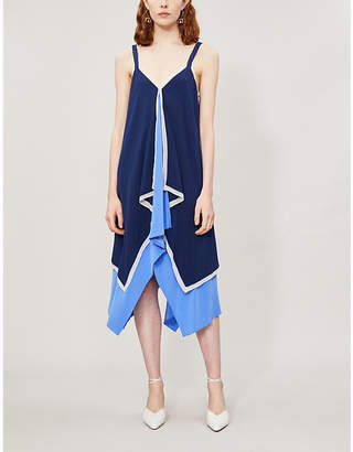 Diane von Furstenberg Wren silk-crepe dress