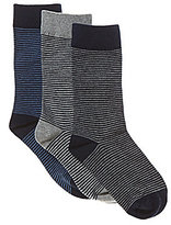 Class Club 3-Pack Mini Stripe Socks