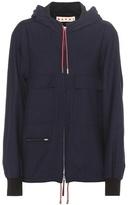 Marni Virgin Wool And Cotton Jacket