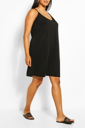 boohoo Plus Cami Mini Dress