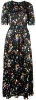 ADAM by Adam Lippes floral-print smocked maxi dress