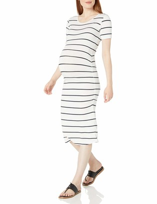 Rosie Pope Women's Short Sleeve Ruched Dress