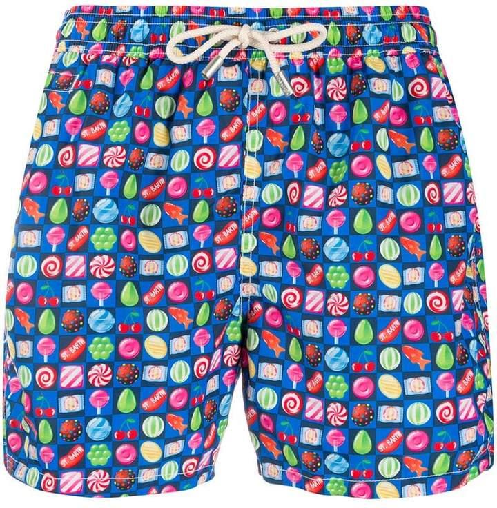 5d836163e4 MC2 Saint Barth Blue Men's Swimsuits - ShopStyle