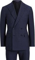 Ralph Lauren Slim Fit Striped Wool Suit