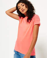 Superdry Embroidered Raglan T-shirt