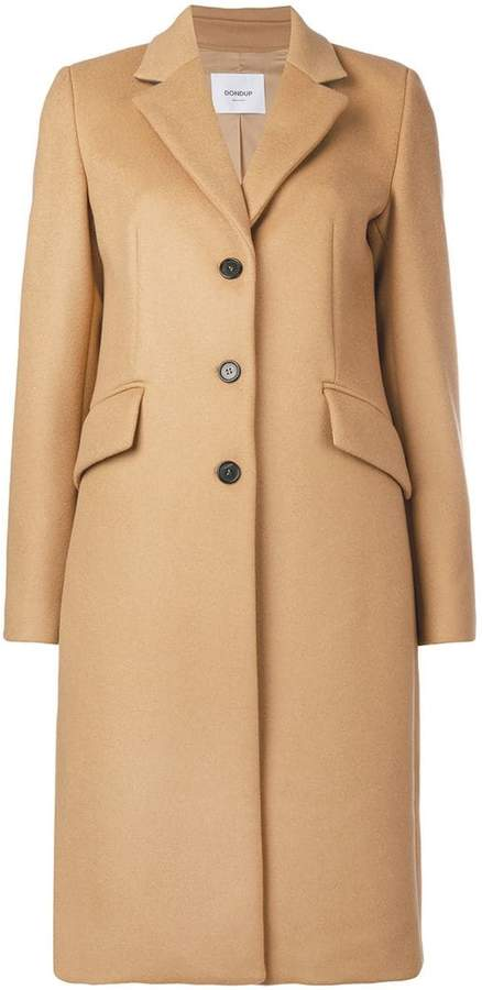Dondup classic single-breasted coat