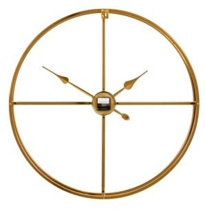 Venus Williams Modern Round Metal Floating Wall Clock