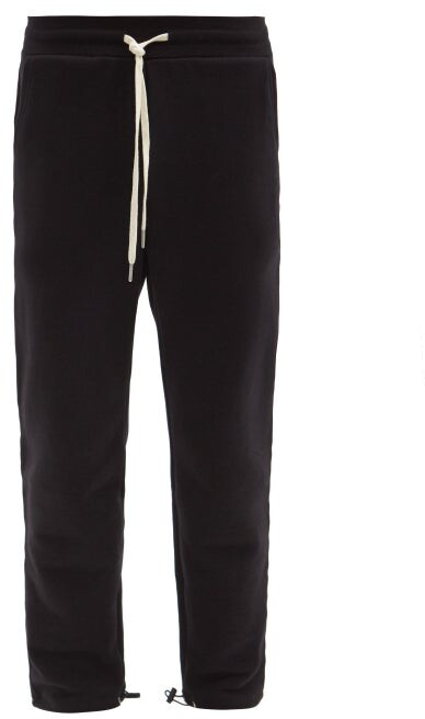 John Elliott Sochi Cotton-jersey Track Pants - Black