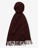 FLINT Window pane checked scarf
