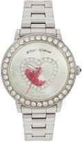 Betsey Johnson Women's Stainless Steel Bracelet Watch 42mm BJ00158-06