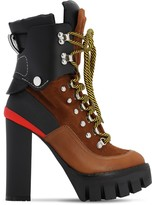 DSQUARED2 130mm Suede & Nylon Hiking Boots