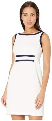 Nanette Lepore Jackie Shift Dress (Ivory) Women's Dress