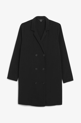 Monki Double breasted blazer dress