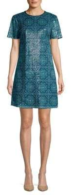MICHAEL Michael Kors Sequin Mini Shift Dress