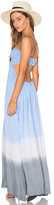 Tiare Hawaii Kai Strapless Maxi Dress