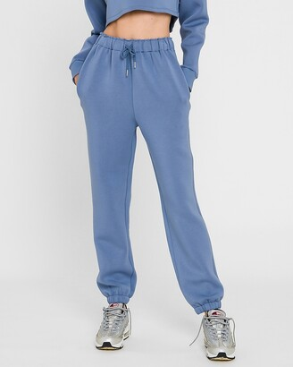 Express Grey Lab High Waisted Lounge Jogger Pant