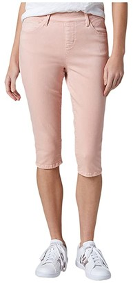 Jag Jeans Bryn Pull-On Twill Pedal Pusher (Agave) Women's Casual Pants
