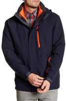 Free Country Waterproof Stretch Jacket with Quilted Down Inner Jacket