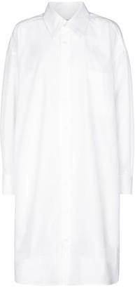 Maison Margiela Cotton poplin shirt dress