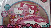 Hello Kitty Garden of Love Twin Sheet Set ( Twin )