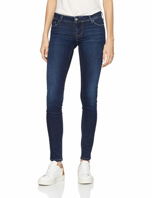 Teddy Smith Women's Pin Up 3 Skinny Comf Used Jeans