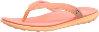 Hurley Shoes Womens Phantom Womens Free Sandal Platform Sandals Orange Size: 7