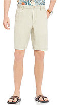 Tommy Bahama Linen The Dream Flat-Front Linen-Blend Shorts