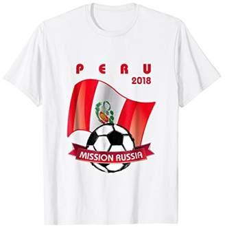 Peru 2018 Football Shirt - Mission Russia Soccer Jersey