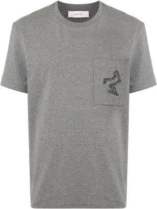Cerruti crew neck patch pocket T-shirt