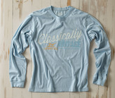 Madda Fella Long Sleeve Excursion - Moonlight Blue