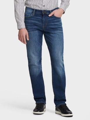 DKNY Unisex Slim Straight Jeans - Chatham Medium Wash - Size 38x32